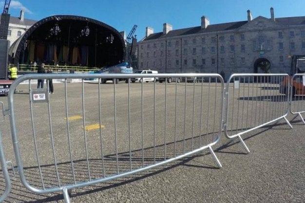 Crowd Control Barrier Hire Dublin Ireland